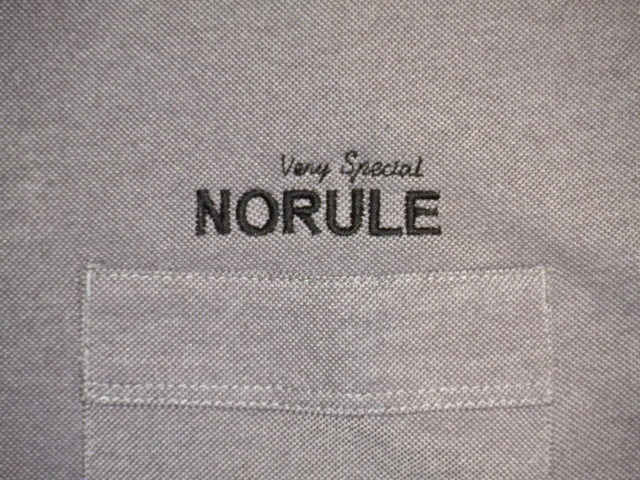 NORULE 2TONE POLO GRAY FT7