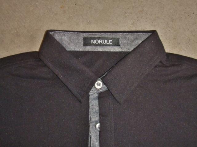 NORULE 2TONE POLO BLACK FT1