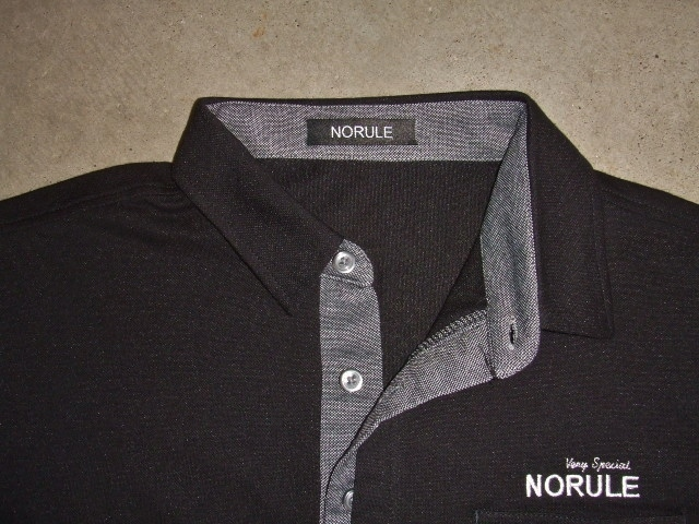 NORULE 2TONE POLO BLACK FT2