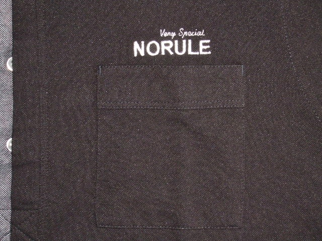 NORULE 2TONE POLO BLACK FT4