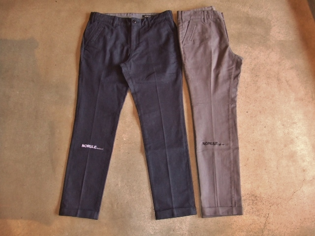 NORULE Stretch chino pants