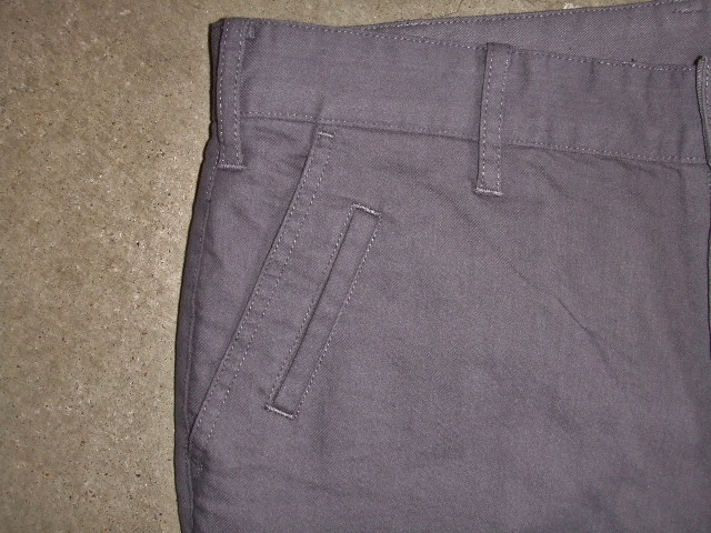 NORULE Stretch chino pants gray ft2