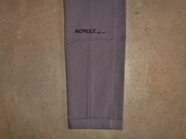 NORULE Stretch chino pants gray ft4