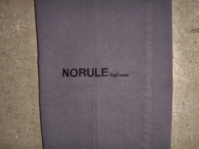NORULE Stretch chino pants gray ft5