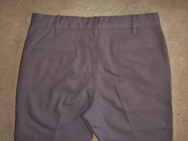 NORULE Stretch chino pants gray ft6
