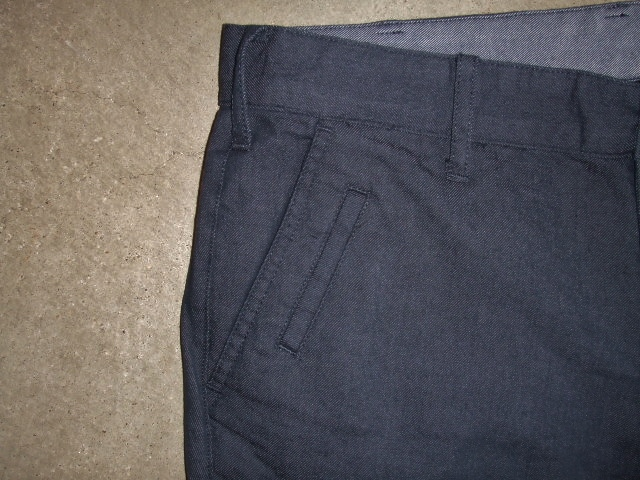 NORULE Stretch chino pants navy ft2