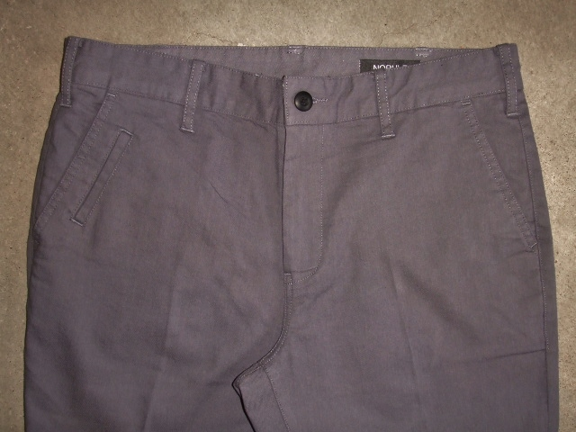 NORULE Stretch chino pants gray ft1