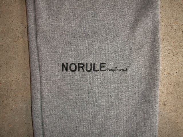 NORULE Cutsew Easy Pants GRAY FT6