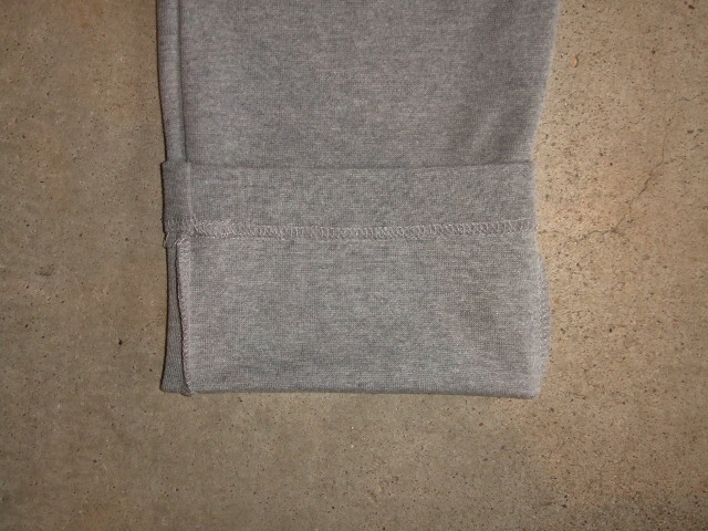 NORULE Cutsew Easy Pants GRAY FT10