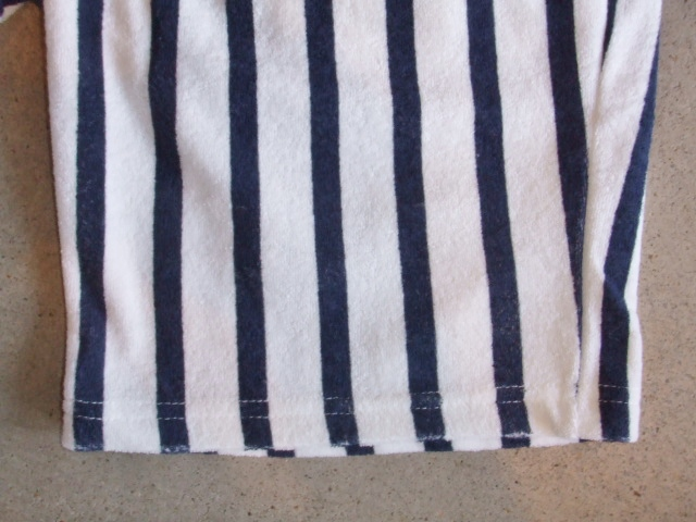 NORULE Stripe Pile shorts white3