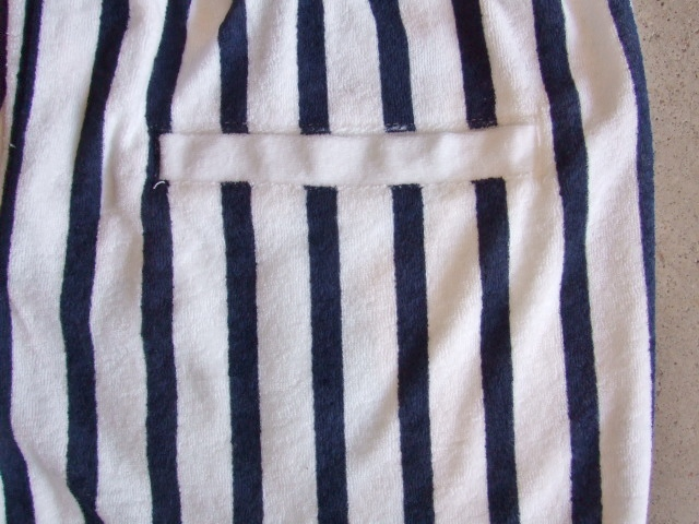 NORULE Stripe Pile shorts white5