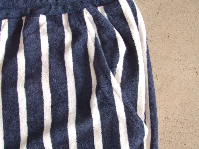 NORULE Stripe Pile shorts navy2
