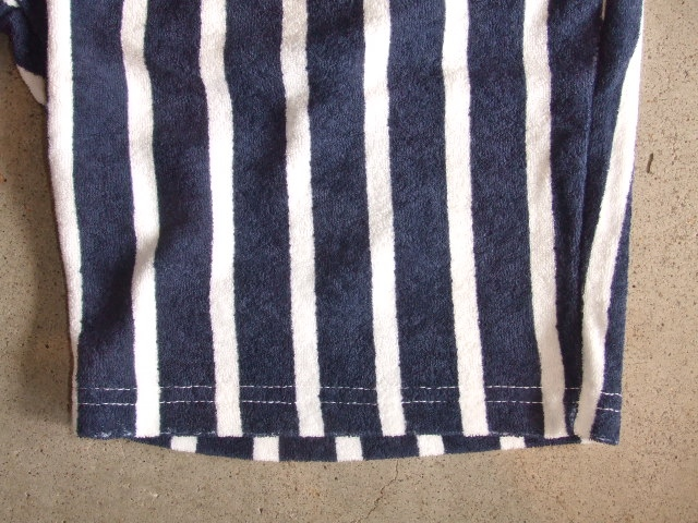 NORULE Stripe Pile shorts navy3