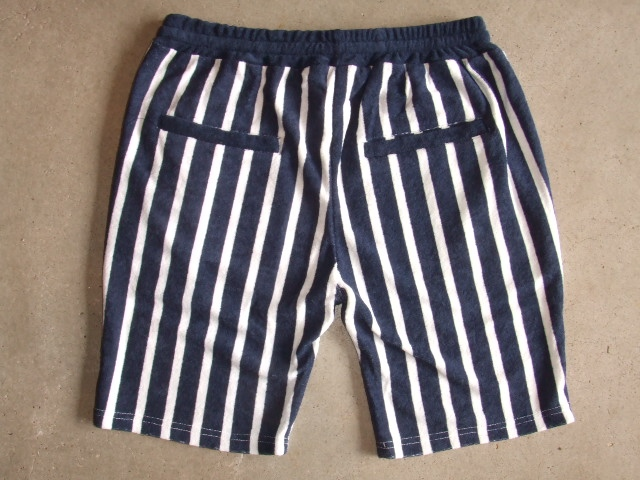 NORULE Stripe Pile shorts navy4