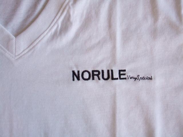 NORULE v veryspecial tee white2