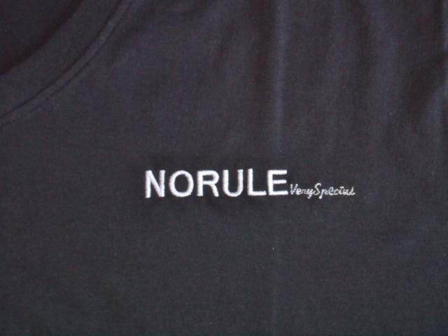 NORULE v veryspecial tee black2