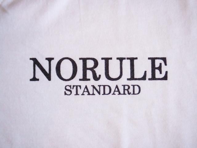 NORULE standard V tee white3