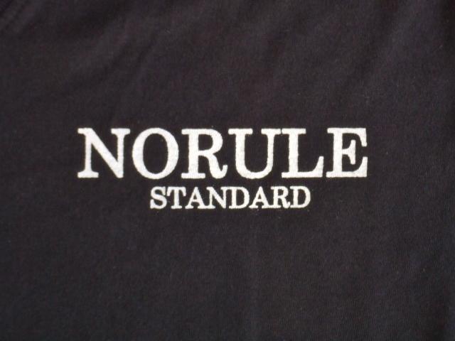 NORULE standard V tee black3
