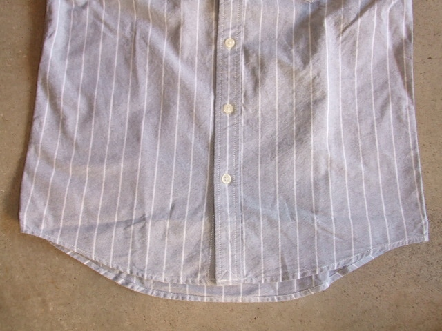 NORULE Stripe shirt navy3