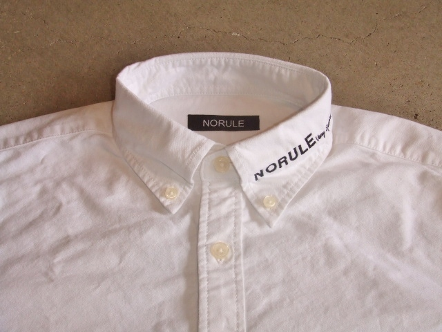 NORULE bd shirt white1