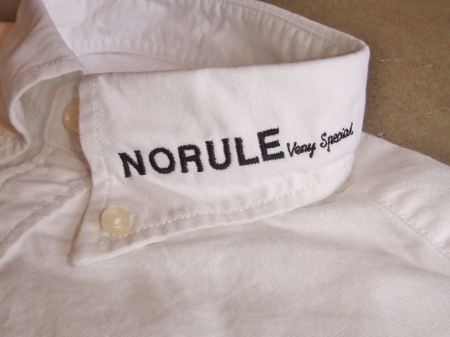 NORULE bd shirt white2
