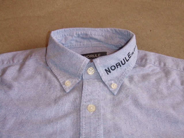 NORULE bd shirt blue1
