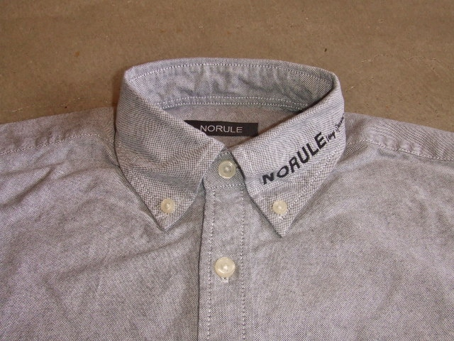 NORULE bd shirt gray1