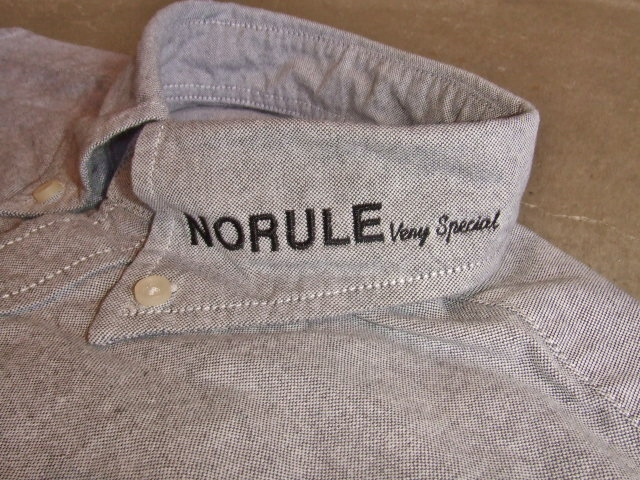NORULE bd shirt gray2
