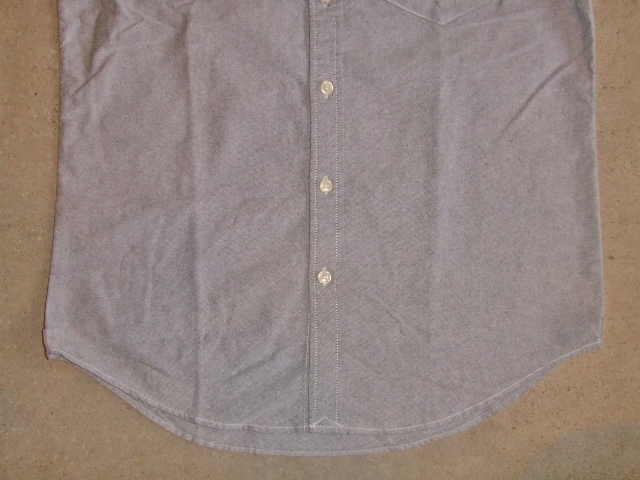 NORULE bd shirt gray4