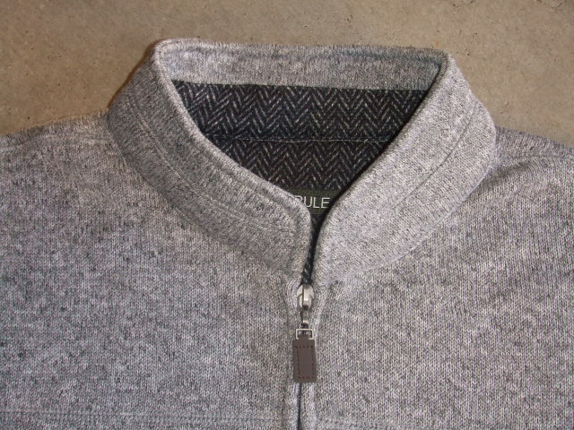 NORULE Stand collar gray1