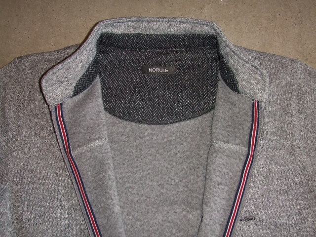 NORULE Stand collar gray6