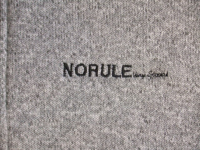 NORULE Stand collar gray2