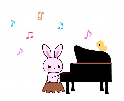 piano音楽祭イラスト