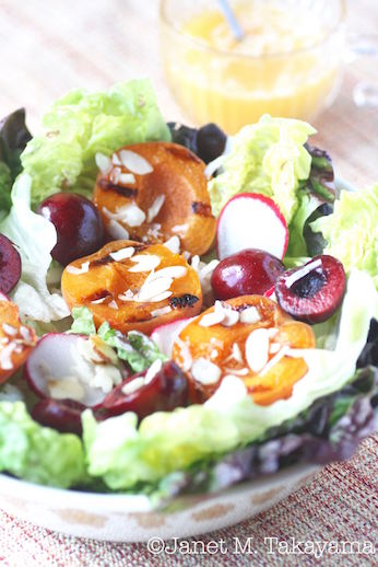grilled apricot salad1