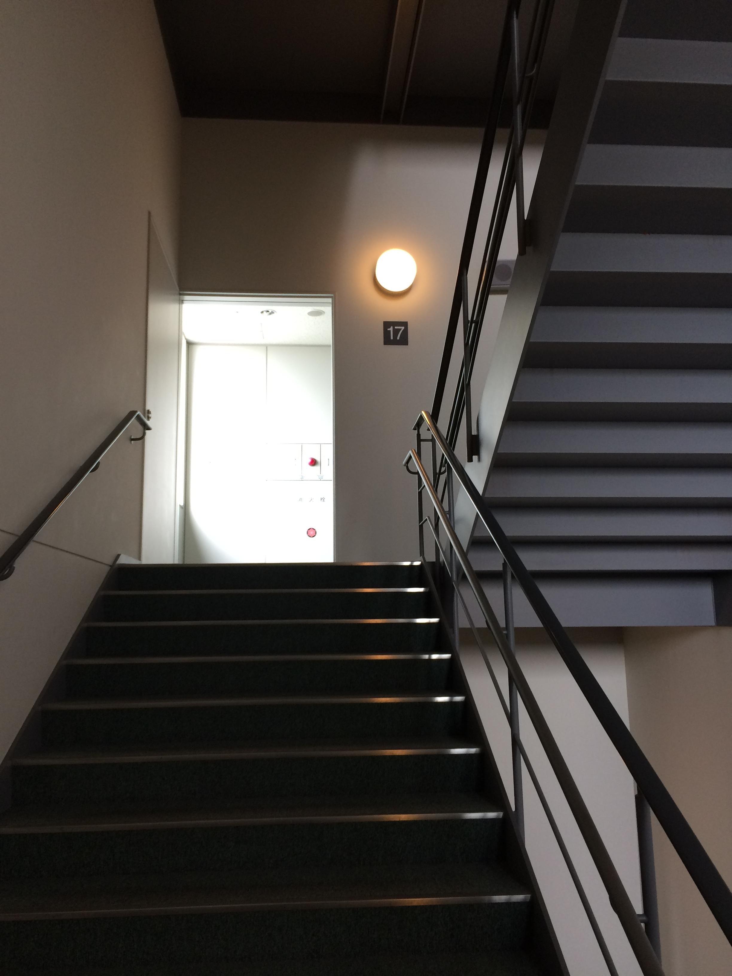 職場の階段