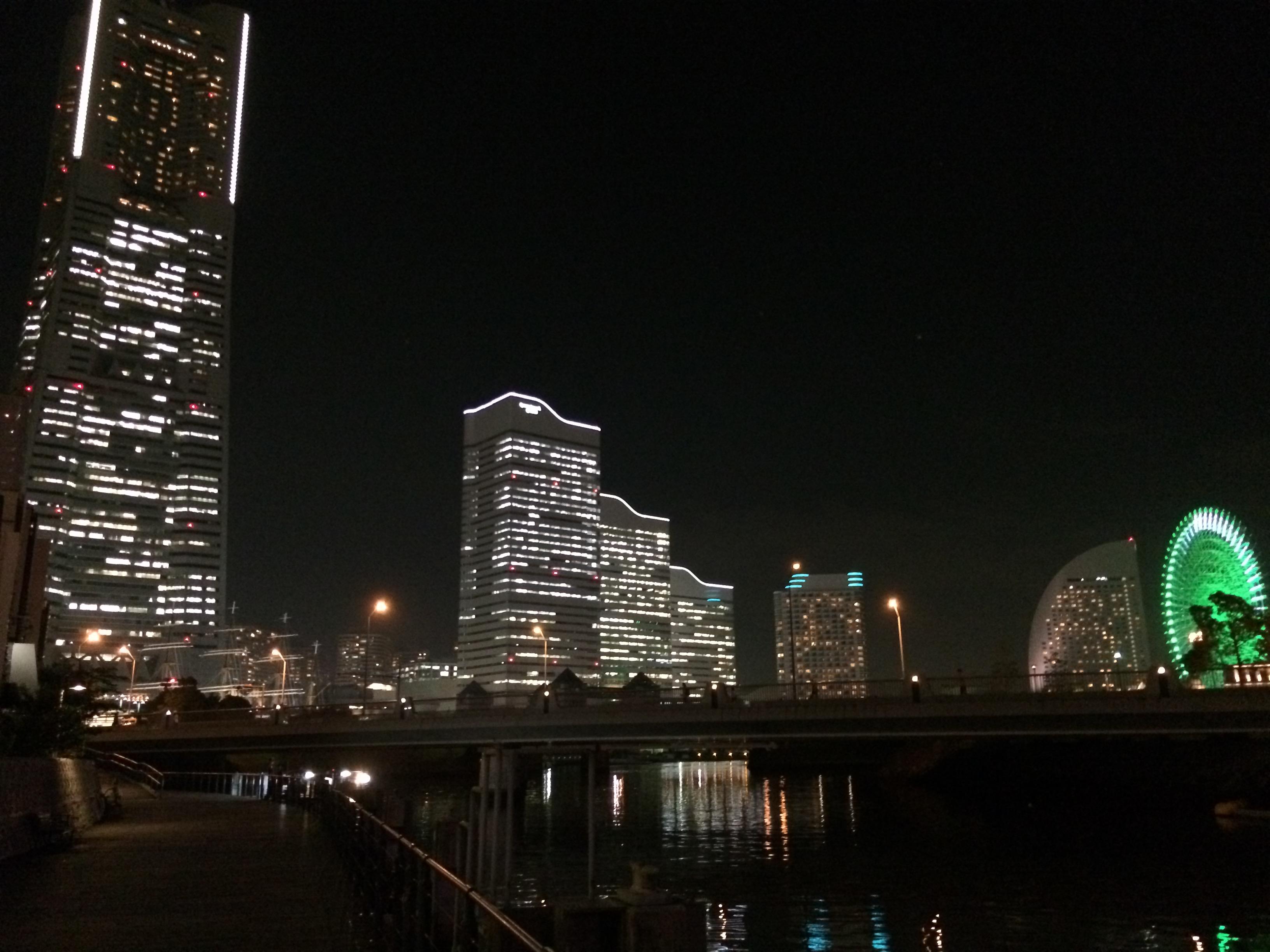 みなとみらい夜景