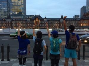 帰宅ラン東京駅