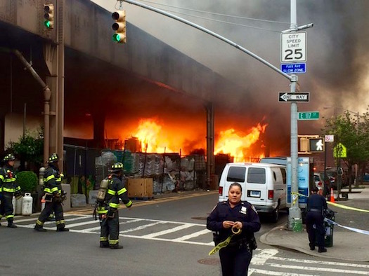 East Harlem Fire