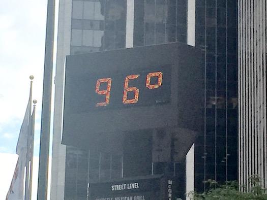 Heated Manhattan