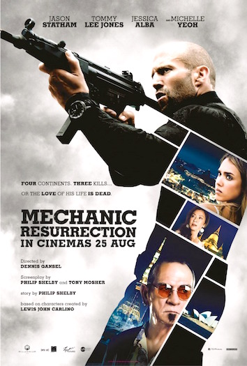 Mechanic Resurrection Poster
