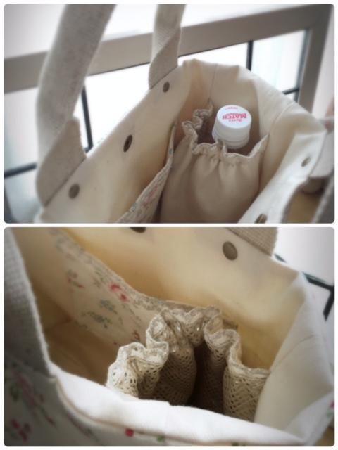 2016.5.14ペットボトル専用ポッケ付きトートバッグ③