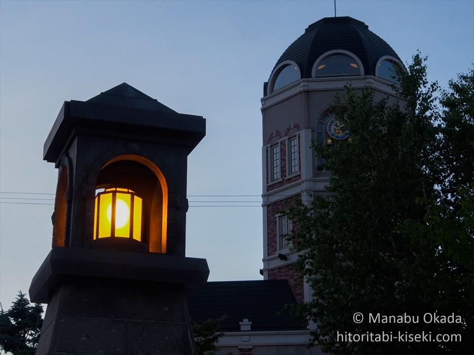 ルタオ本店のタワー