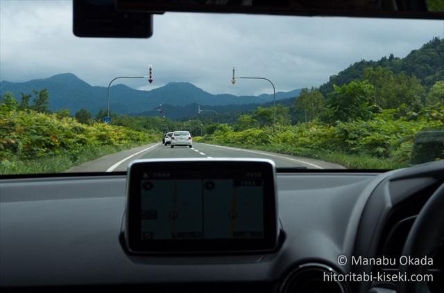 三笠~富良野における山の中