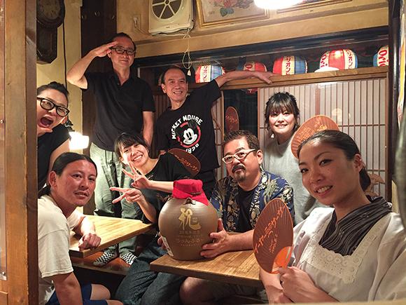 沖縄料理屋ちゃんぷるーの皆様