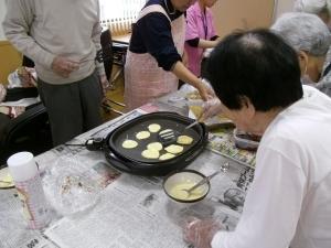 お菓子作り(どら焼き)