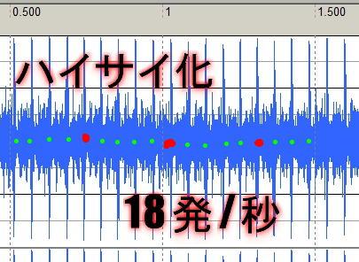 M4ハイサイ化18発/秒20160412