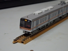 鉄コレ大阪市交66系をライト点灯化改造しました。