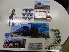 世界鉄道博で購入した鉄道グッズですw。