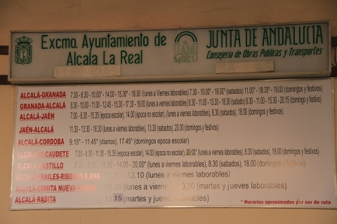 1973 Estacion de autobuses en Alcala