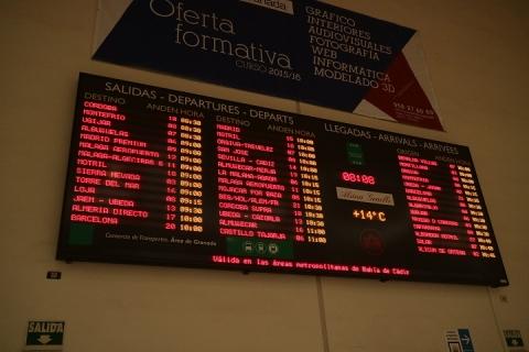 2023 estacion de autobuses en Granada-M